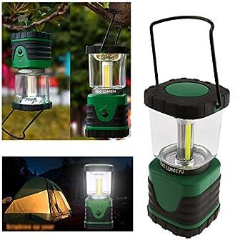 Create Idea Lanterne LED de Camping Portable Pro Ultra Bright 500lm 3 Modes Lampe de Camping en Plein air