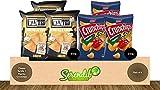 Queso de Tortilla Wanted (3 unidades, 450 g cada uno) + Lorenz Crunchips X-Cut Pimentón (3 unidades, 150 g cada uno)