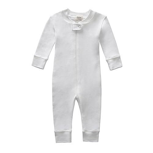 f535a66db2ef Owlivia Organic Cotton Baby Boy Girl Zip up Sleep N Play