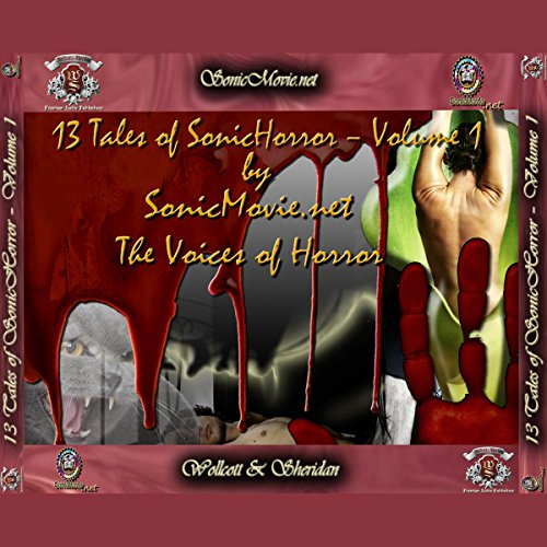 13 Tales of Sonic Horror, Volume 1 audiobook cover art