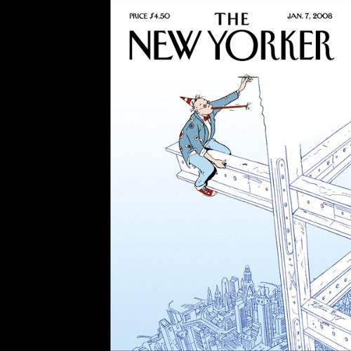 The New Yorker (January 7, 2008) audiobook cover art