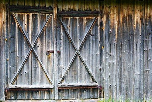 NIVIUS 220x150cm Oude Hout Bouw Fotografie Achtergrondschuur Houten Huis Deur Retro Vintage Stijl Platteland Hek Board Platteland Photo Studio Props Behang D-7045