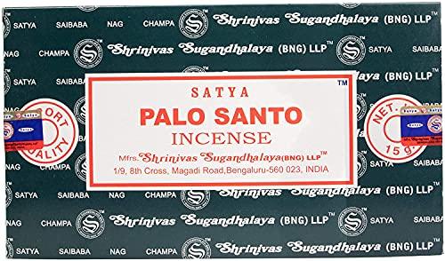 Satya - Varillas de Incienso, Negro, Palo Santo