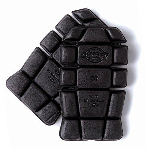 Best Price Square Knee Pads (Pair) SA66 BK by Dickies-Workwear