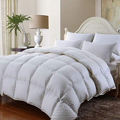 EHD Duck Feathers Duvets Luxurious Hotel Quality Super Soft Warm Cosy All Season Quilts 13.5 Tog (King Size Duvet)