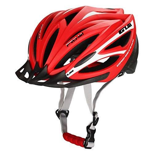 Fietshelm Veiligheid Verstelbare Weg Mountainbike Fietshelm met Geïntegreerd Licht Dames Dames Paardrijuitrusting