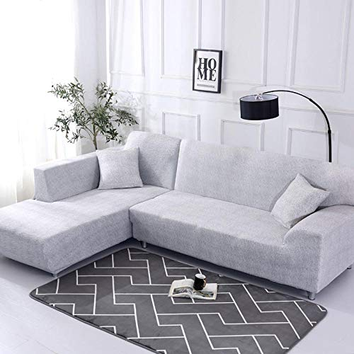 JRKJ sofahoezen, hoezen voor hoekbank Elastic Cover Sofa for Living Room Couch Slipcover Stretch L Shaped Sofa Cover Corner Sofa Cover