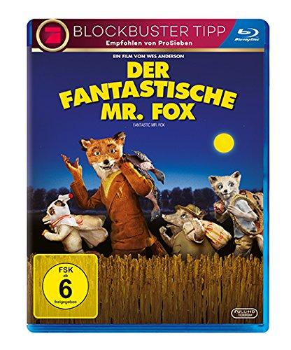 Der fantastische Mr. Fox [Alemania] [Blu-ray]