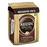 Nescafé SPECIAL FILTRE, Café Soluble, Recharge de 150g