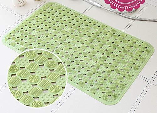 TPR Milieuvriendelijk materiaal met zuignap smaakloze superzachte badkamer badmat badkamer vloermat (15,7 * 39,3