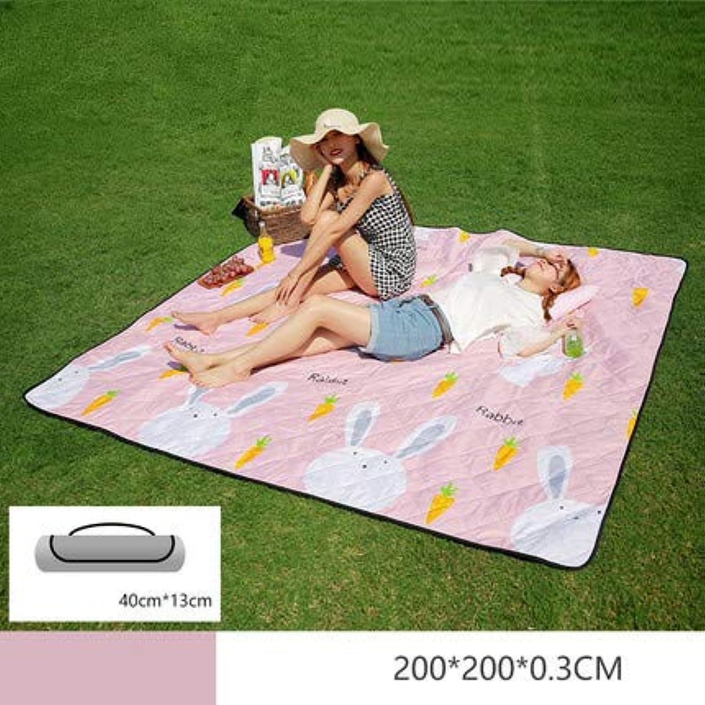 Picnic Blanket Waterproof Backing Outdoor Beach Picnic Rug Mat
