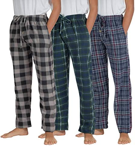 3 Pack Big Boys Pajama Pants Fleece Plush Pjs Kids Pajamas Christmas Clothes Lounge Flannel product image