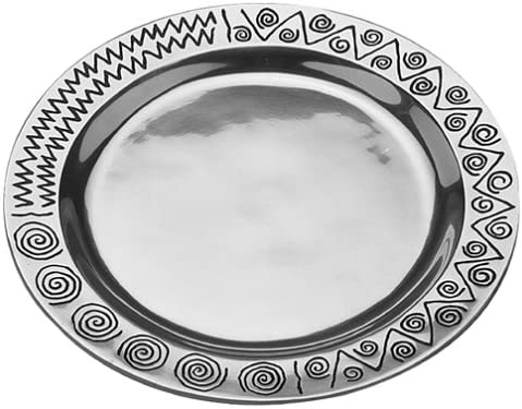 Max 59% OFF Wilton Armetale Reggae 2021 spring and summer new Serving Tray 14-1 4-Inch Round