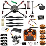 JMT DIY GPS Drone 2.4Ghz 10CH X4 560mm Umbrella Foldable RC Quadcopter 4-Axis ARF Unassemble APM w/ Gimbal FPV Quadcopter