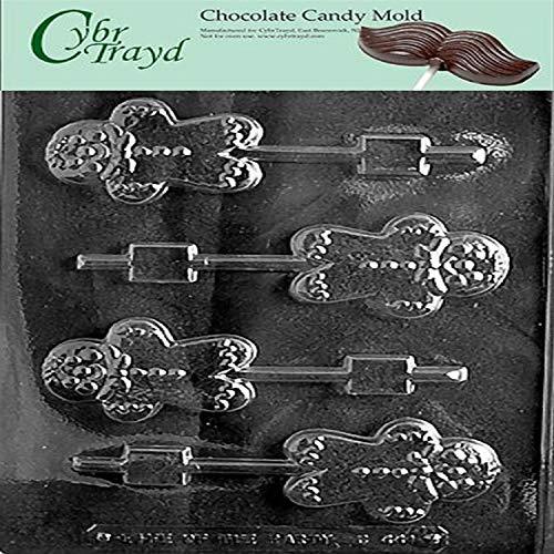 Cybrtrayd C441 Lolly Kerstmis Chocolade Snoep Maken Mal, Gingerbread Man
