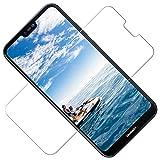 TOCYORIC Protector Pantalla Huawei P20 Lite, [2 Pack] [Alta Definicion] [Sin Burbujas] [Fácil de Instalar] 9H Dureza, Anti arañazos, Cristal Vidrio Templado para Huawei P20 Lite