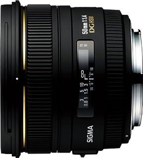 Sigma 50mm f1.4 EX DG HSM CAF - Objetivo para Canon (Distancia Focal Fija 50mm, Apertura f/1.4, Filtro 77 mm) Color Negro [Importado] (B0018ZDGAC) | Amazon price tracker / tracking, Amazon price history charts, Amazon price watches, Amazon price drop alerts