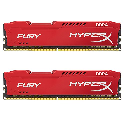 Kingston HyperX FurY 2400 MHz. 16GB(2x8GB) rood