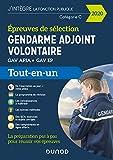 Gendarme adjoint volontaire - 2020 - Epreuves de sélection - Tout-en-un - Epreuves de sélection GAV APJA - EP - Tout-en-un (2020)