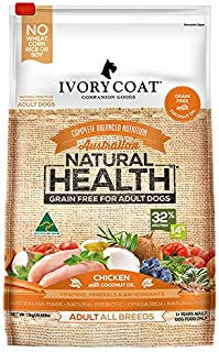 Ivory Coat Adult Chicken & Coconut 13kg Grain Free Dog Food