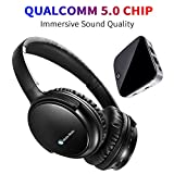 TV Headphones, BKM100 Wireless Headphones for TV with Bluetooth Transmitter &...