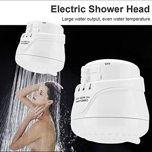 Cabeza de ducha eléctrica, 5400W del hogar eléctrica