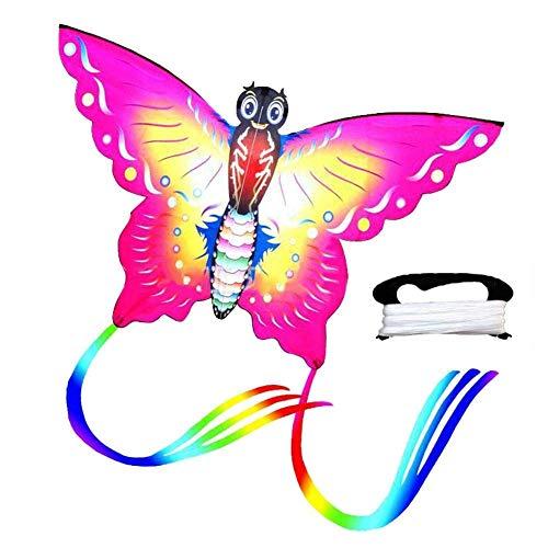 TaiWang Kindergrum Kids Flying Butterfly Formule, Oficial de Dirección de Adultos, para Juegos Outdoor Actividad Infantil Miembros de la Familia,Rosado