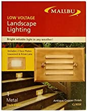 Intermatic Cl905k 7-Watt Antique Copper Metal Half Brick Surface Low-Voltage Light Accent & Patio Lighting