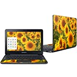 Mightyskins Skin Compatible with Samsung Chromebook 3 11.6' Wrap Cover Sticker Skins Sunflowers