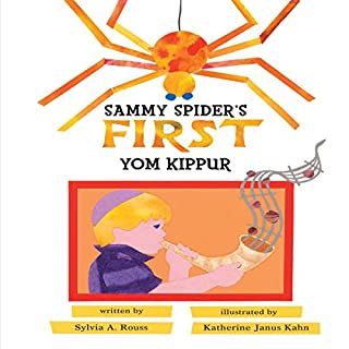 Sammy Spider's First Yom Kippur audiobook cover art