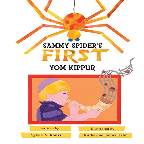 Sammy Spider's First Yom Kippur audiobook cover art