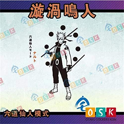 Naruto Wall Stickers Six Immortal Patterns Naruto Game Naruto Animated Stickers 90 * 80Cm
