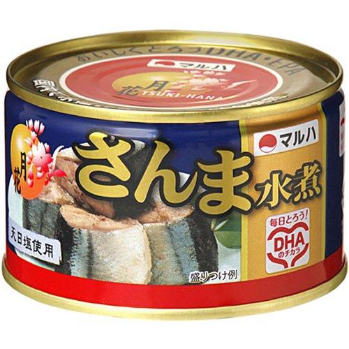 マルハ 月花さんま水煮 200g 24缶