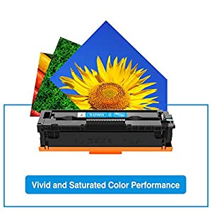 True Image Compatible Toner Cartridge Replacement for HP 201X 201A CF400A CF400X Color Laserjet Pro MFP M277dw M252dw M277c6 M277n CF401X CF402X CF403X M277 Toner (Black Cyan Yellow Magenta, 4-Pack)