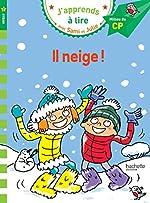 Sami et Julie CP Niveau 2 Il neige d'Emmanuelle Massonaud