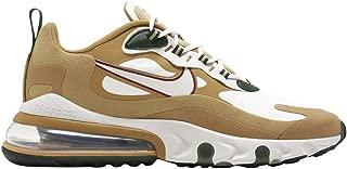 Men's Air Max 270 React Casual Shoes (10.5, Club Gold/Light Bone/Gold/Wheat)