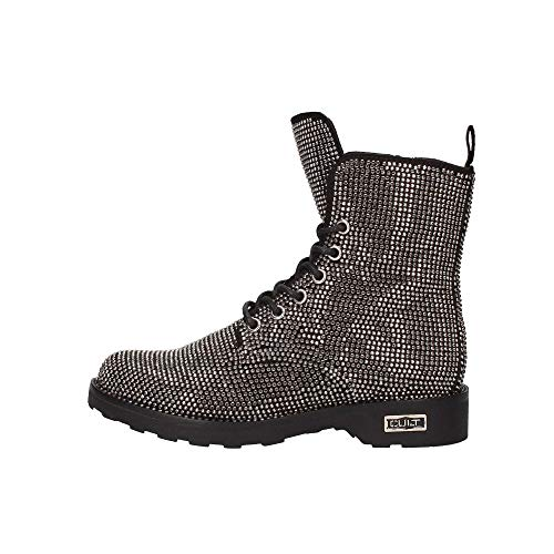 Cult Zeppelin 2688 Mid W Suede Black/Strass Anthra