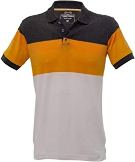 Tipsy Koala Men's Orange Polo
