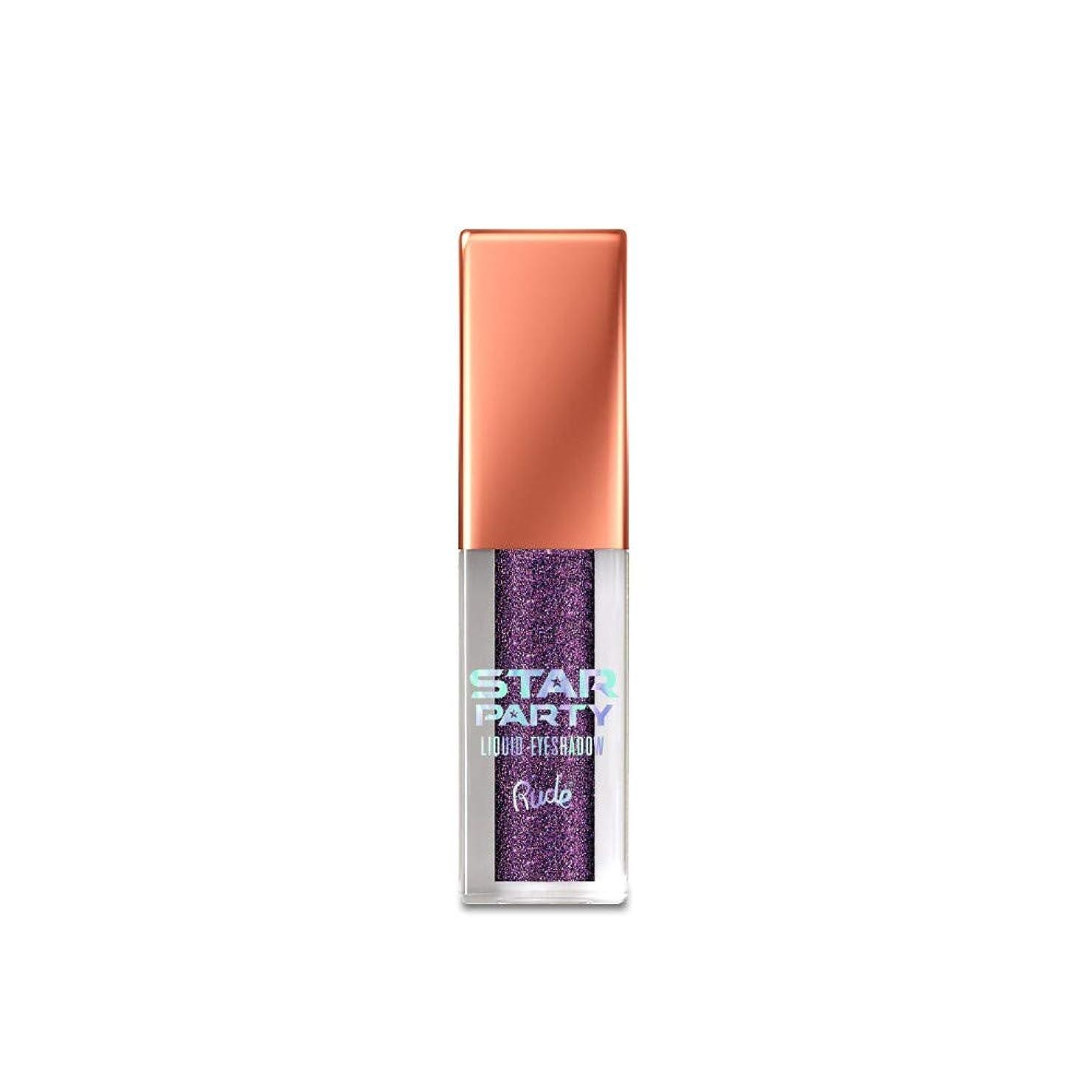 着替える息苦しい懸念(6 Pack) RUDE Star Party Liquid Eyeshadow - Solstice (並行輸入品)