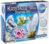 Clementoni 69269 Galileo Science – Kristalle selbst züchten Starter-Set, Experimentierkasten für kleine Wissenschaftler, Spielzeug für Kinder ab 8 Jahren, farbenfrohe Experimente fürs Kinderzimmer
