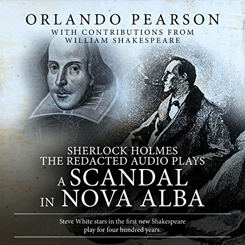 A Scandal in Nova Alba audiobook cover art