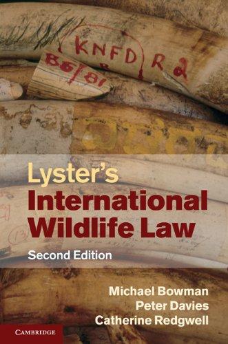 Lyster's International Wildlife Law (English Edition)