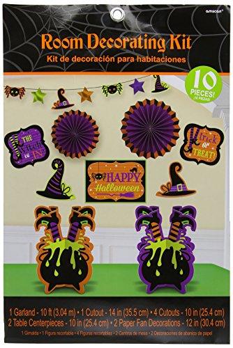 Amscan International 241149 sorcières équipage Kits de décorations