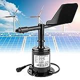 【𝐏𝐚𝐬𝐜𝐮𝐚】 Sensor de Velocidad del Viento, Salida de señal Ambiental 0-5V Transmisor de 360 Grados Sensor de Velocidad del Viento Anemómetro