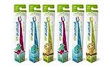 Preserve junior - Cepillo de dientes infantil (para niño de 2 a 8 años, 6 unidades)