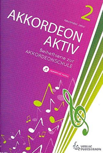 Jekic, Alexander: Akkordeon aktiv Band 2 : für Akkordeon