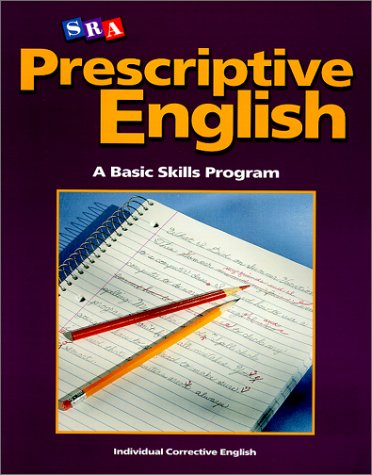 Prescriptive English - Student Edition Book E