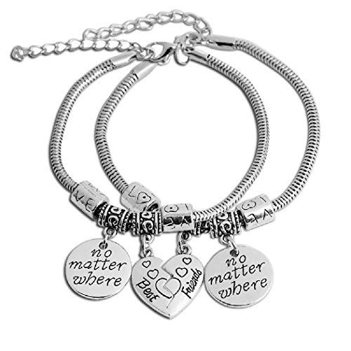 PAPAO Regalo de la Pulsera de la mamá del Regalo de la Pulsera de la Hija del corazón para la mamá Mamá Día de la Madre Regalos de cumpleaños,A