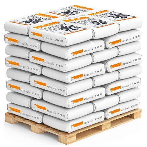 Oppenhäuser Streusalz Palette 1100kg gegen Winterglätte, Glatteis und Schnee - (Palettenpreis)
