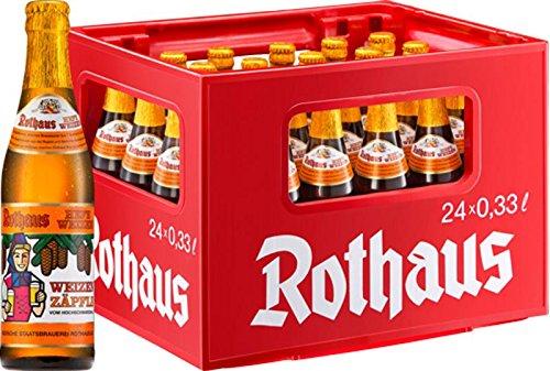 24 x Rothaus Hefeweizen Zäpfle 0,33 L de 5,4%
